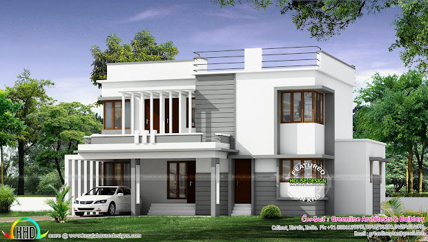 Modern House Architecture - Kerala Home Design And