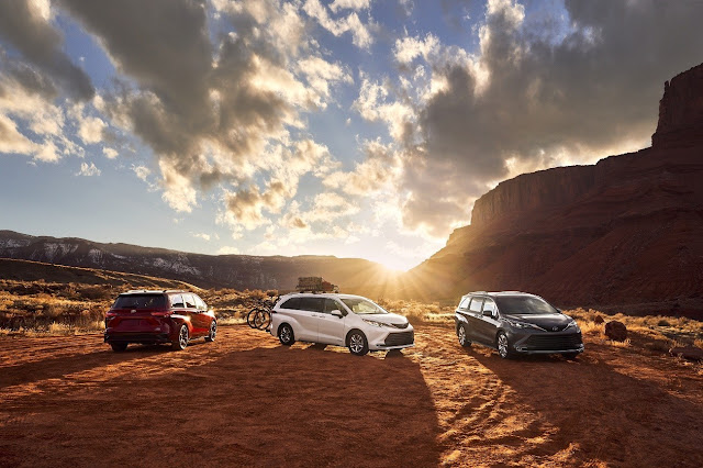 Toyota Launches All-New 2021 Sienna to Suit a Variety of Lifestyles