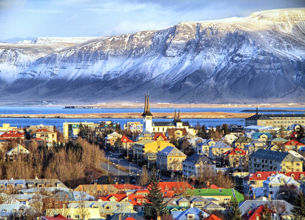 Top 10 Beautiful Cities to Celebrate Christmas | Reykjavík, Iceland