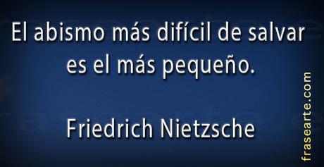 Frases famosas de Friedrich Nietzsche