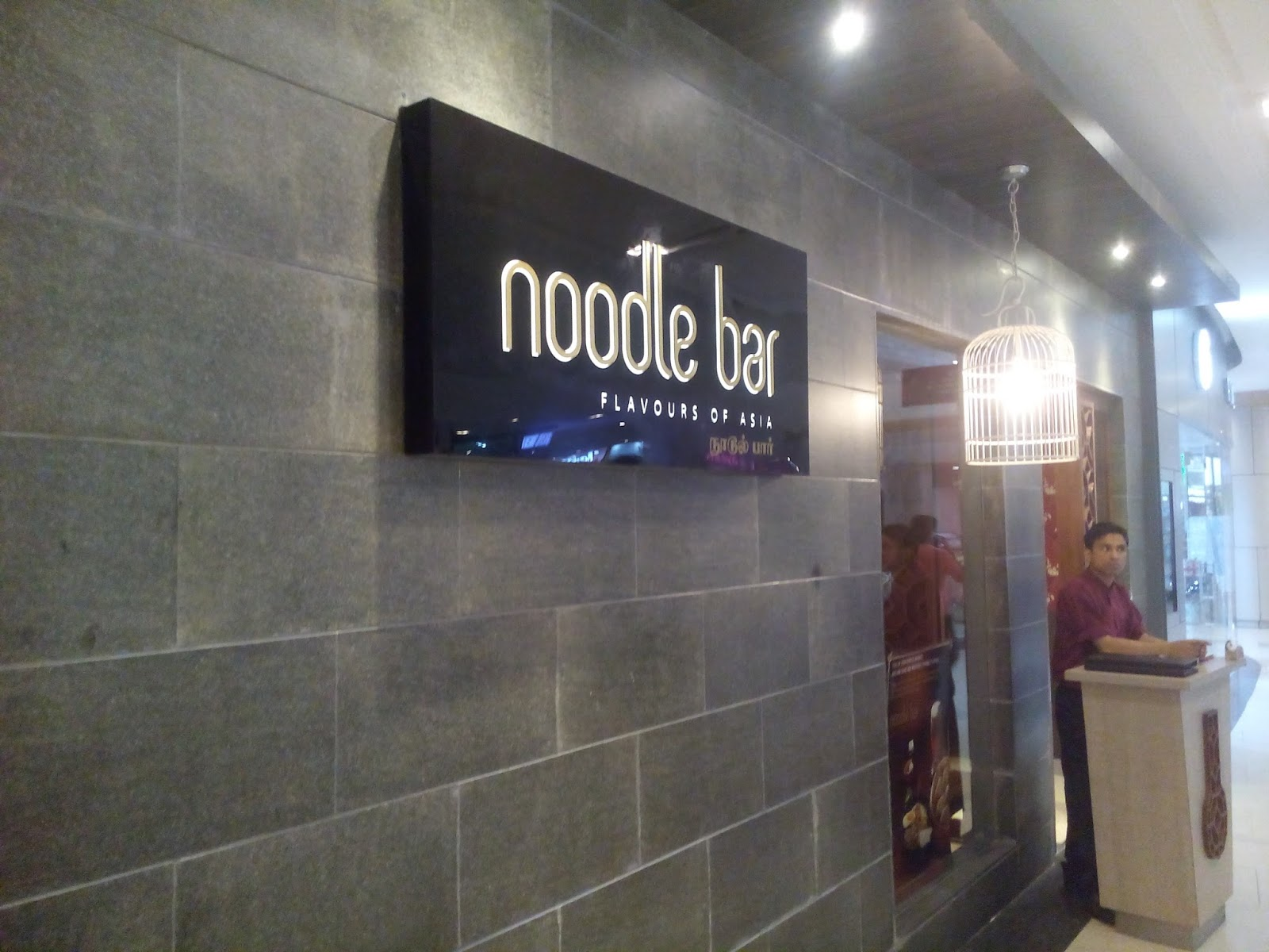 Great Food In Chennai Noodle Bar Phoenix Mall Chennai Part