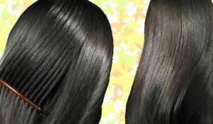 وصفة لنعومة الشعر ولمعانه للنساء والرجال .