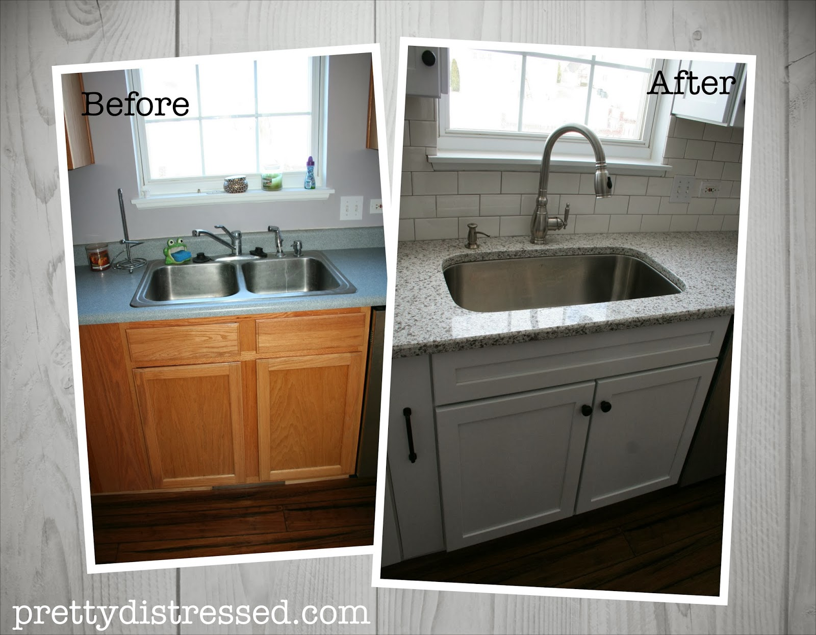 pretty distressed the great remodel kitchen before and after pics