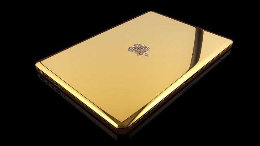 Macbook Pro Emas 24 karat