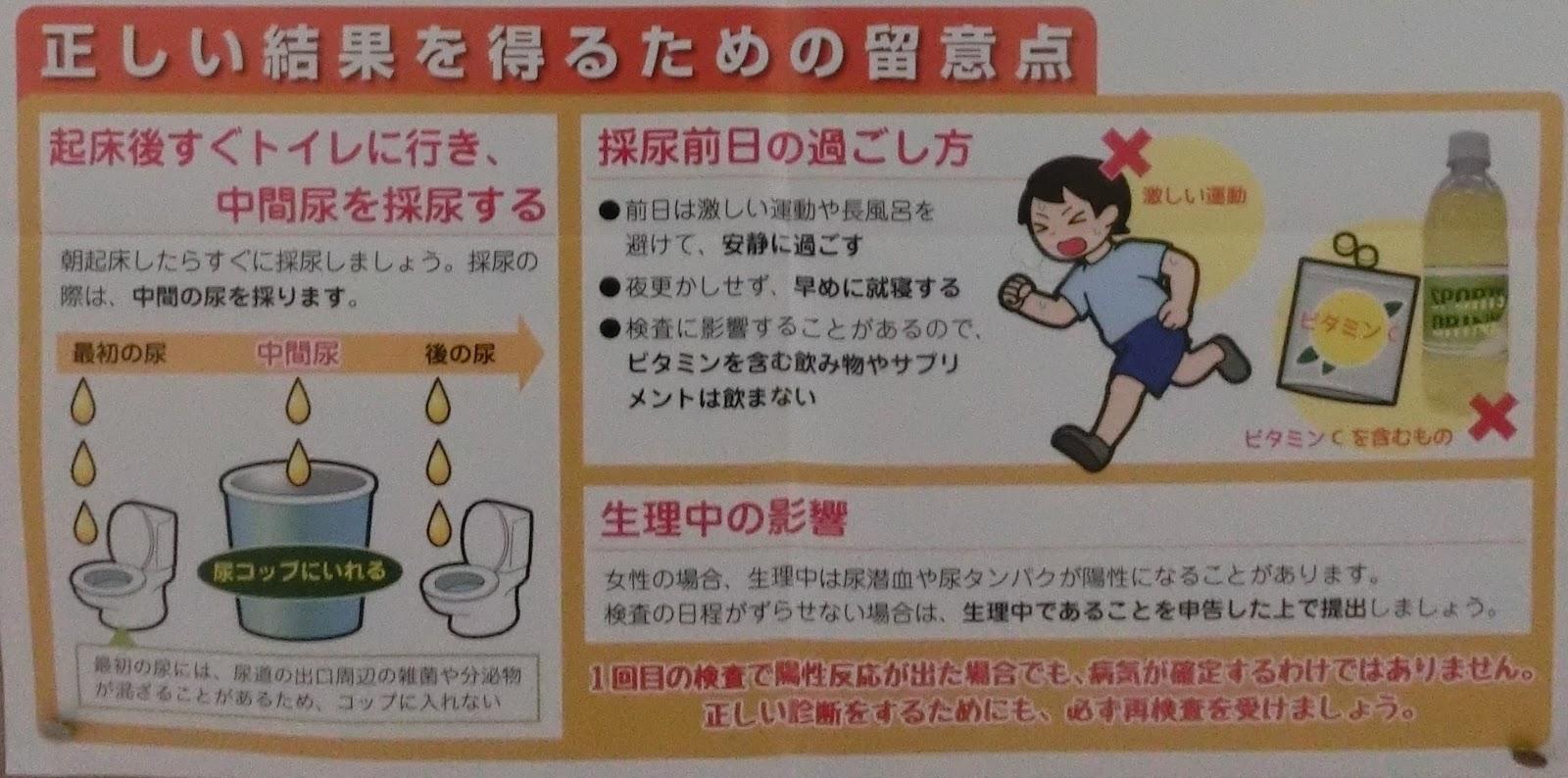 影響 中 検査 尿 生理