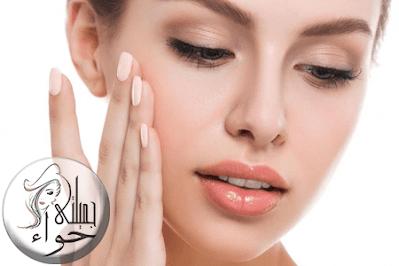 تنظيف البشرة وتقشير الوجه