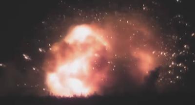 Под Винницей взорвался крупнейший арсенал боеприпасов
