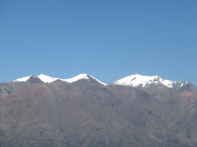 Die Gipfel auch über 5000 m hoch