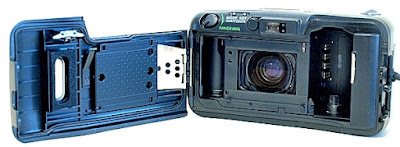 Olympus LT Zoom 105 QD, Film box