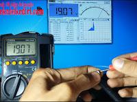 Cara Membuat AvoMeter Dekstop Dengan Mengaktifkan RS232C  Pada Multimeter