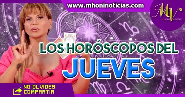 Los horóscopos del JUEVES 18 de Marzo del 2021 - Mhoni Vidente