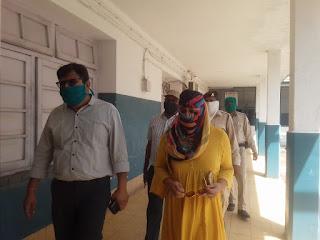 नेपानगर में बाहर से आने वाले प्रत्येक व्यक्ति की, कि जाये स्क्रीनिंग - जिला कलेक्टर