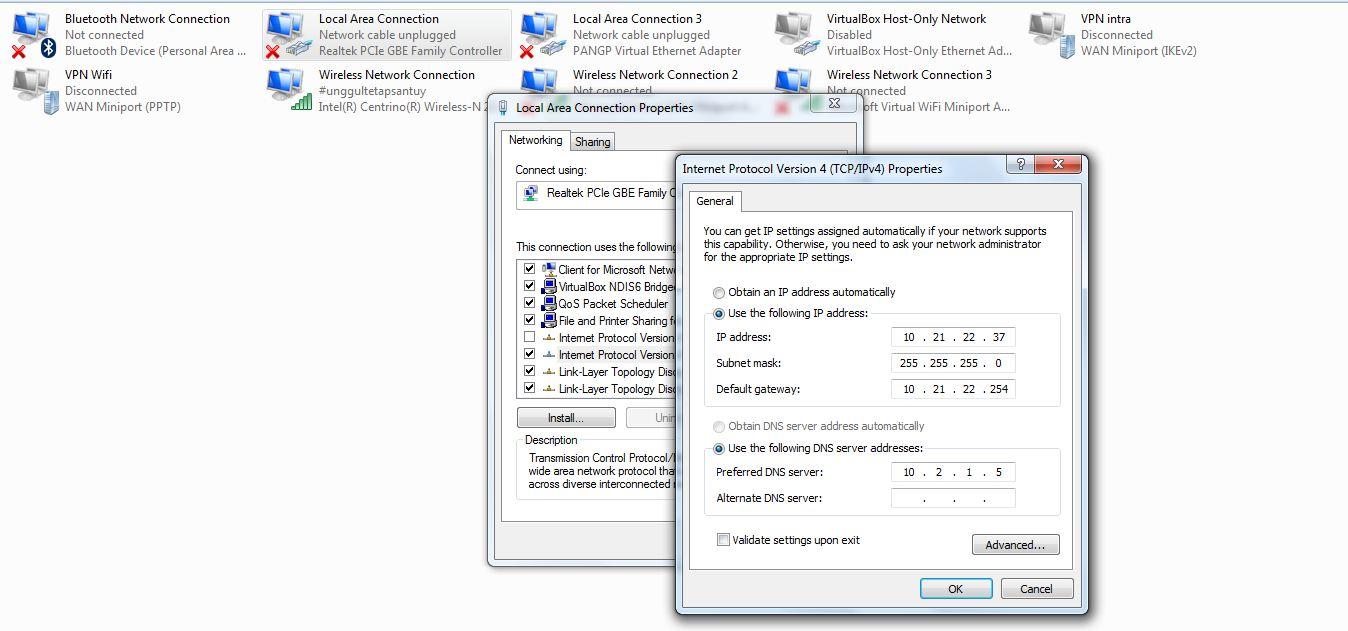 Cara Bypass Layanan Astinet Telkom Lengkap