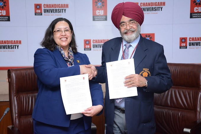 Chandigarh University offers global programs in association with USA, Australia, UK and Canadian Universities
