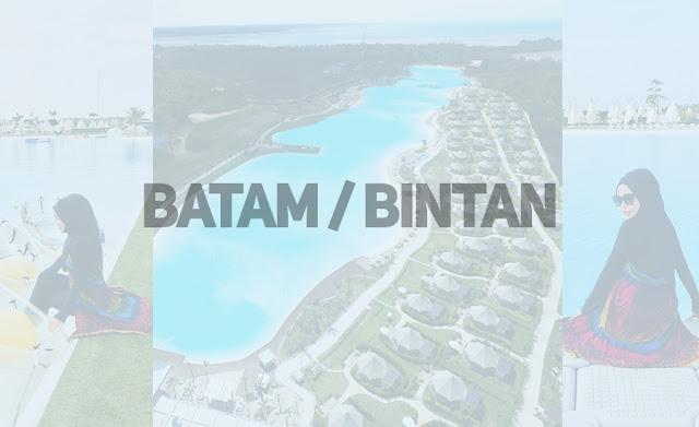 Itineray Ke Batam Dan Bintan, Indonesia