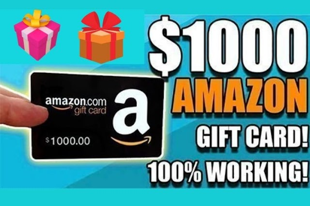 Free amazon gift card giveaway