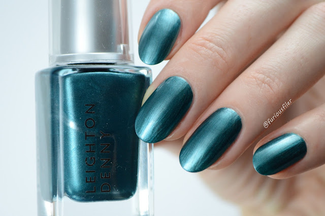 leighton Denny jailbird swatch turquoise furious filer