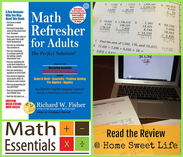 math skills, pre-algebra, geometry, homeschool math