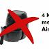 4 Kesalahan yang biasa kita lakukan ketika menggunakan Air Fryer