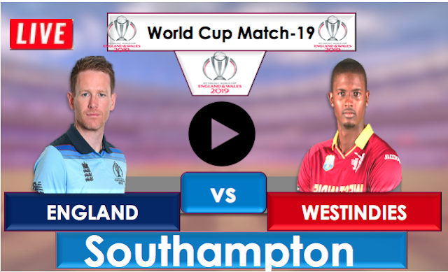 England vs WestIndies, Live Streaming Online, Match 19 World Cup 2019