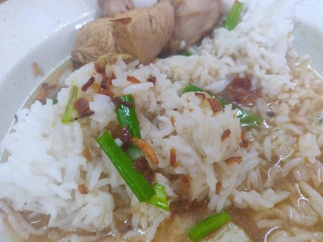 Sup Ayam + Nasi Kosong