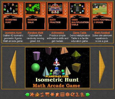 Math Arcade Games