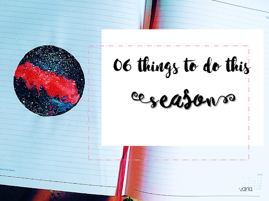 06 Things To Do This Season.
