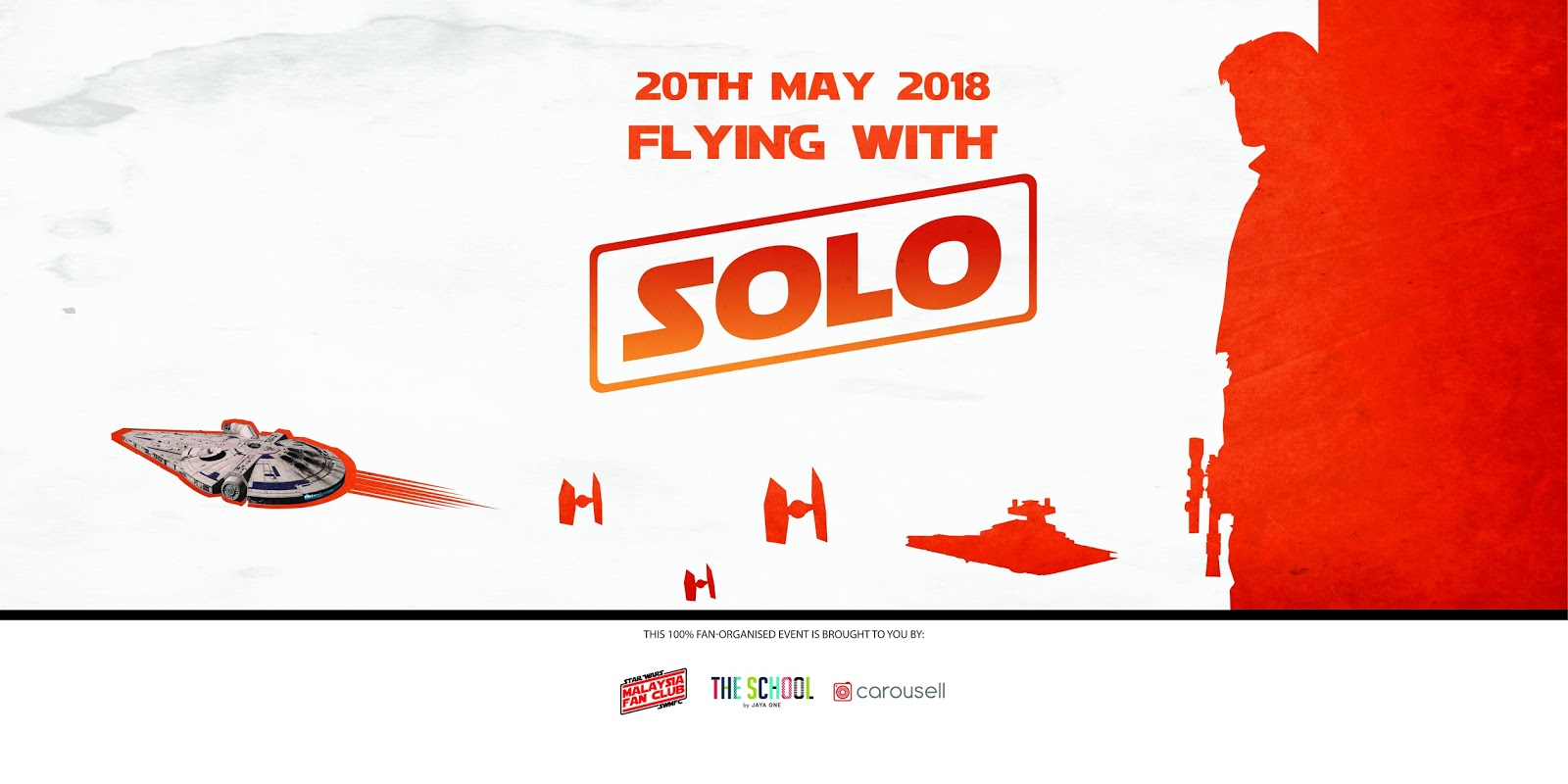 FLYING WITH SOLO Free Public Event in Conjunction with Launch of Solo: A Star Wars Story