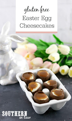 No Bake Cheesecake Filled Easter Eggs Recipe