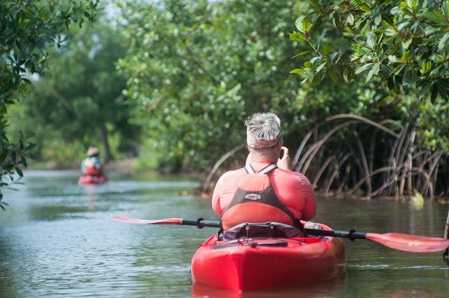 Kayaking the Volta River, Ghana