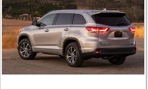 2021 Toyota Highlander spy shots - Motor Authority