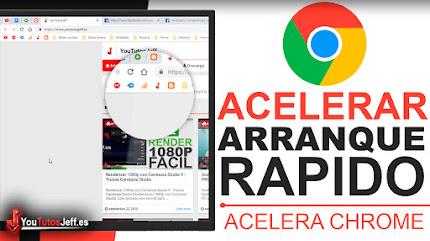 Acelerar Inicio de Google Chrome - Acelerar Chrome