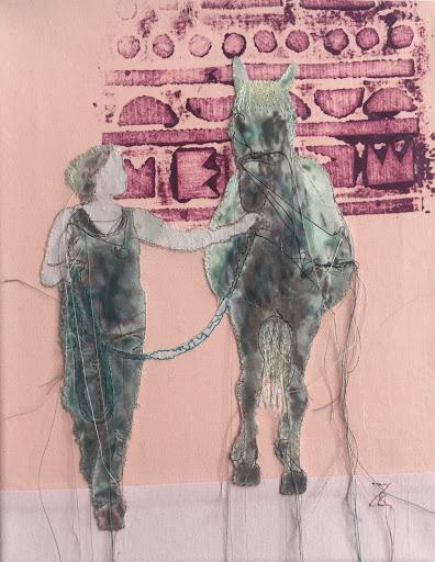 © RZ, mit Pferd