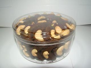 Resep Kue Kacang Mede Coklat Crispy
