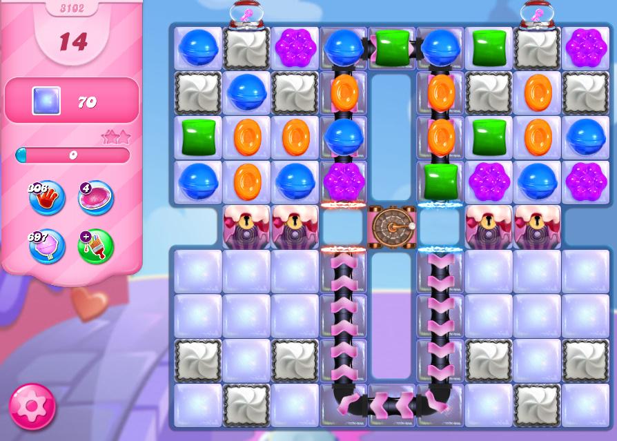 Candy Crush Saga level 3132