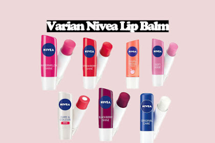 Review Varian Nivea Lip Balm