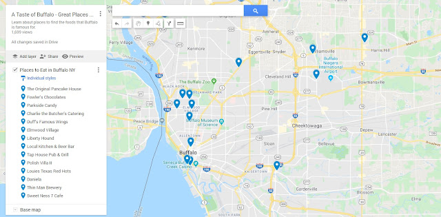 Buffalo Food Map