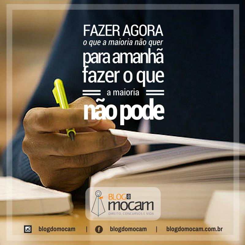 Blog Do Mocam Direito Concursos E Vida Estudar Estudar