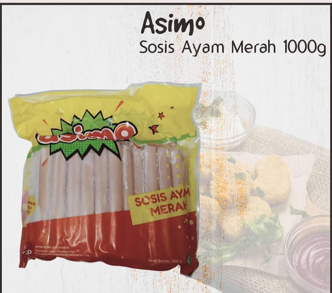 Sosis Ayam Merk Asimo 1000 Gram