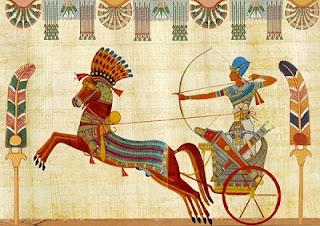 la vida de los faraones de egipto
