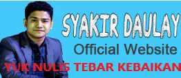 Yuk Tebar Kebaikan di Website Syakir Daulay