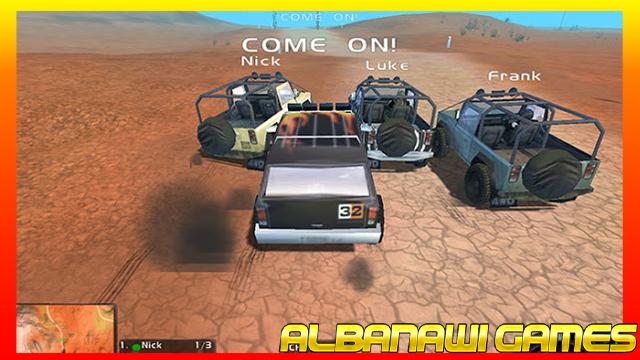 تحميل لعبة السبقات 1 NSANE  للكمبيوتر من ميديا فاير