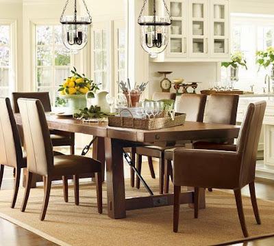 Wicker Furniture Dining Set