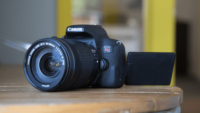 Sorteio câmera Canon EOS Rebel T7i