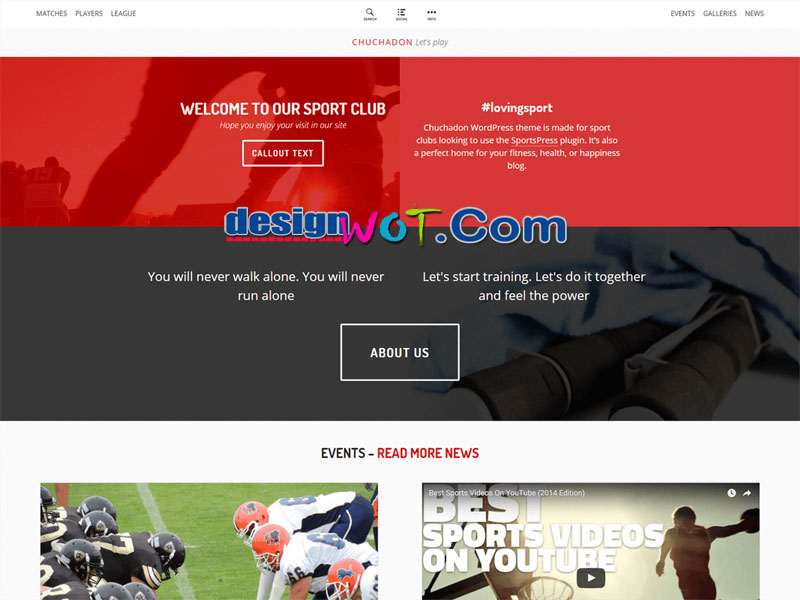 Chuchadon WordPress Theme