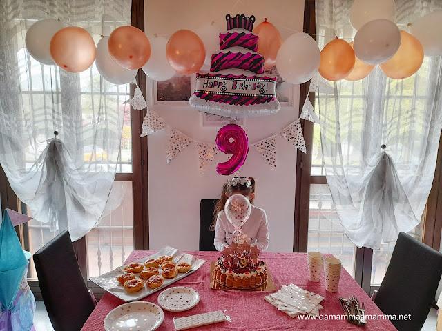 Festa di compleanno per i 9 anni