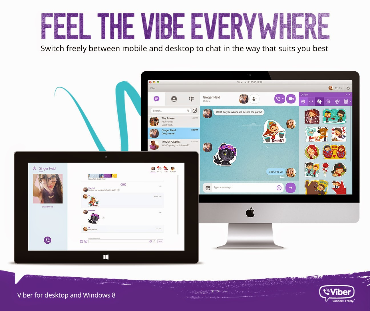 Viber now with Video Calling! - Erica YuB