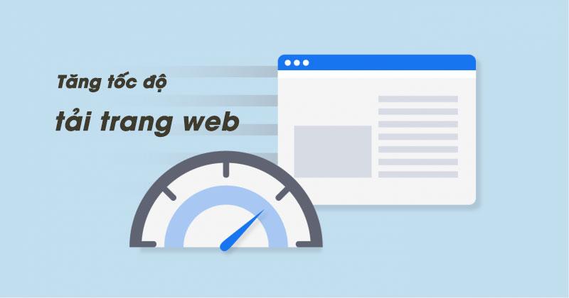 tăng tốc độ tải trang web/blog