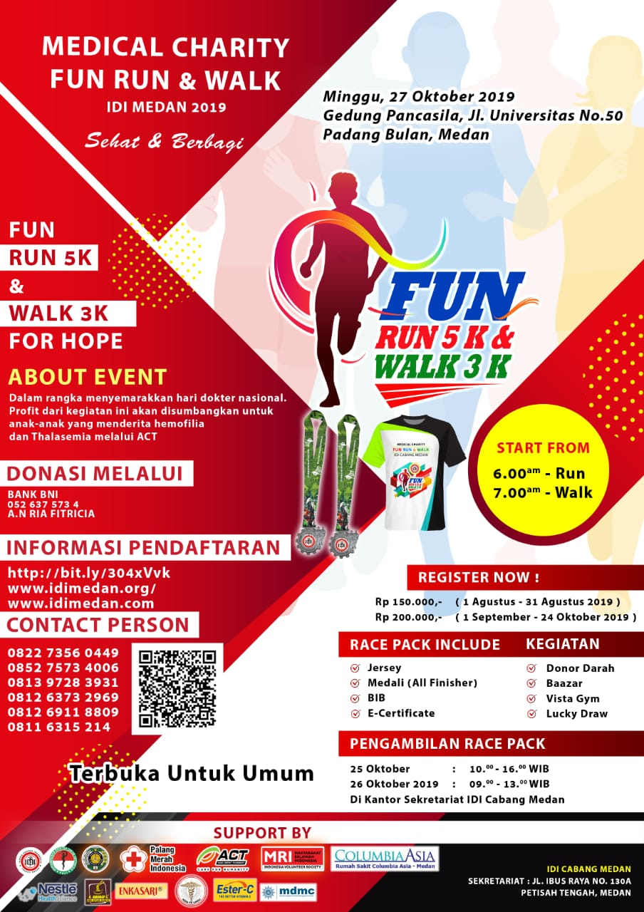 Medical Charity Fun Run & Walk • 2019
