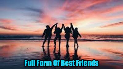 Full Form Of Best Friend Forever | Funny Full Form Of Friend